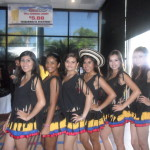 Colombian Dance Team