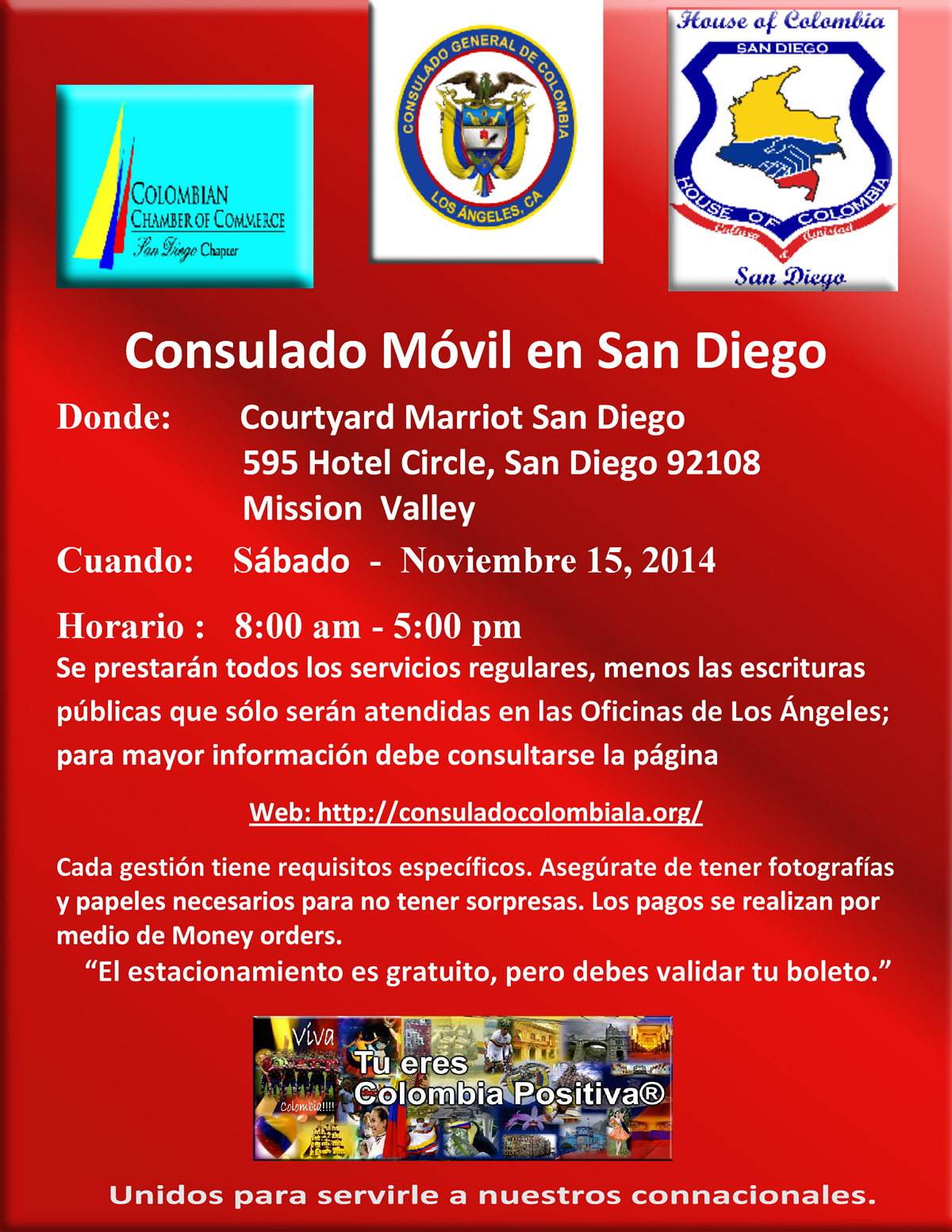 Consulado Movil en SanDiego